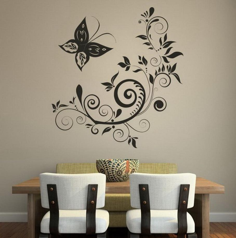Pinturas Decorativas Para Paredes Perfect Cool Gallery Of Diseos  ~ Pintura Decorativa Paredes Interiores