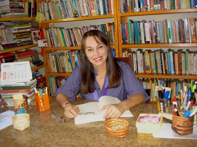 Marly Amarilha faz palestra no Fórum da Rede Potiguar de Escolas Leitoras