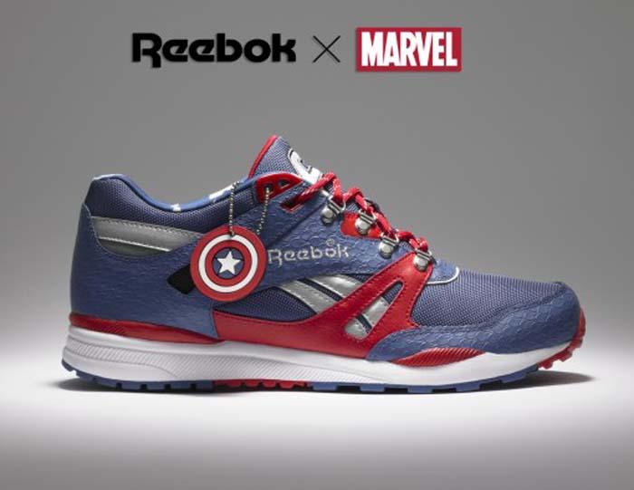 e340f55adc689 Historiteca  Nuevas Zapatillas Reebok - Marvel