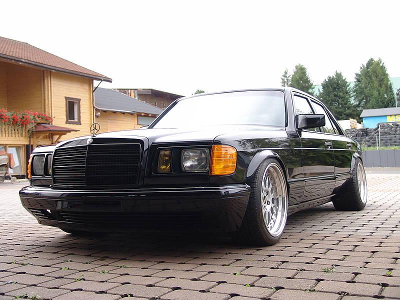 Mercedes Benz W126 Tuning Black Benztuning