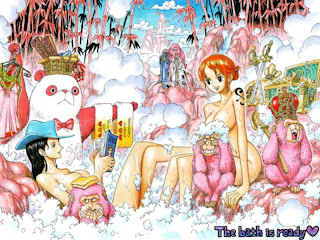 nami x nico robin hot hnt sexy chan one piece wallpaper anime pirate