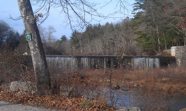 the dam for Hope Mill