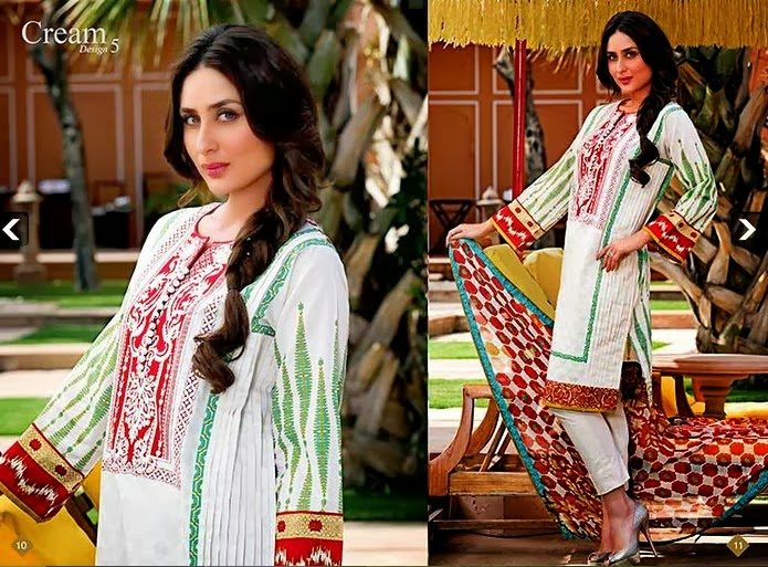 Latest Embroidered Lawn Dreseses