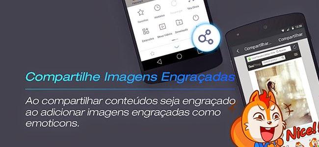 Novo UC Browser introduz compartilhamento com emoticons e melhorias no upload de fotos no Facebook