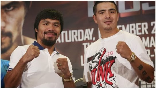 Manny Pacquiao vs. Brandon Rios 2013