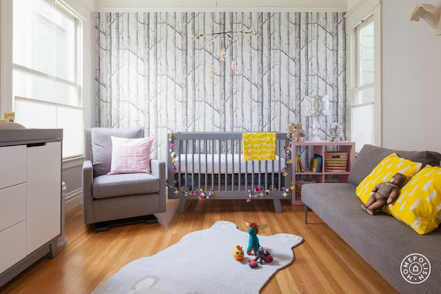 Deco: modern nursery and kids room
