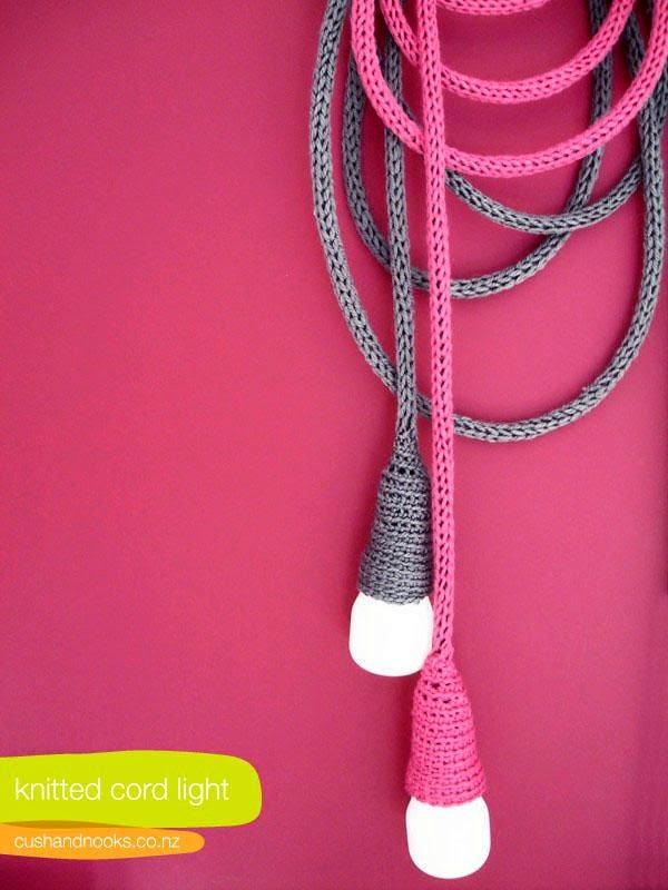 cordones de tricot
