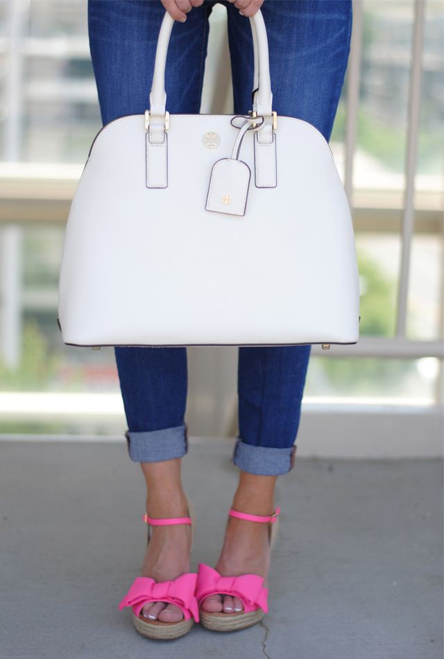 Must have these Kate Spade bow wedges