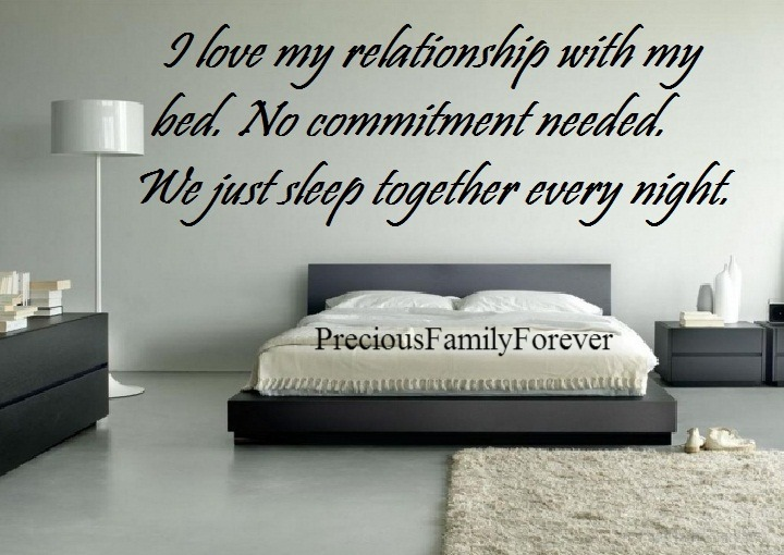 I Love My Bed Simple Of I Love My Relationship with My Bed Photo