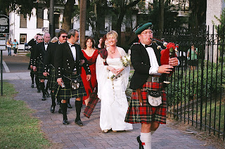 Scottish Savannah wedding photo by James Byous Savannah photographer