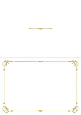 招待状テンプレート(シンプルなライン)表