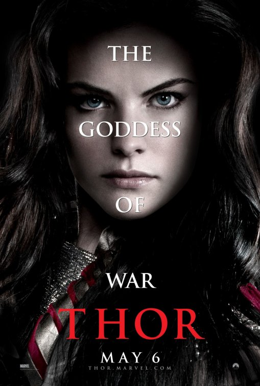Sif Goddess of War Thor poster