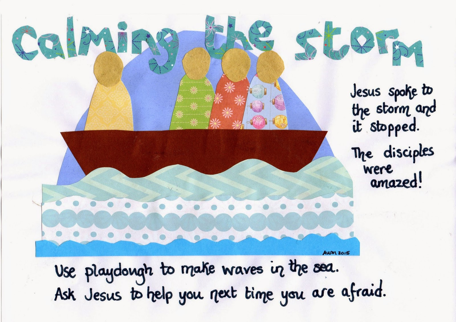 flame creative children u0027s ministry jesus calms the storm play