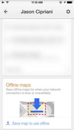 cara pakai google map android ios