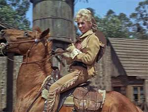 "Wrangler Jane from the TV show ""F"" Troop"