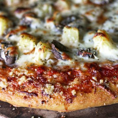 Garlic Parmesan Pizza Crust