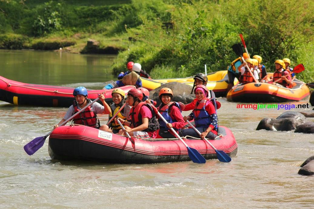 Arung Jeram Murah di Magelang Sungai Elo