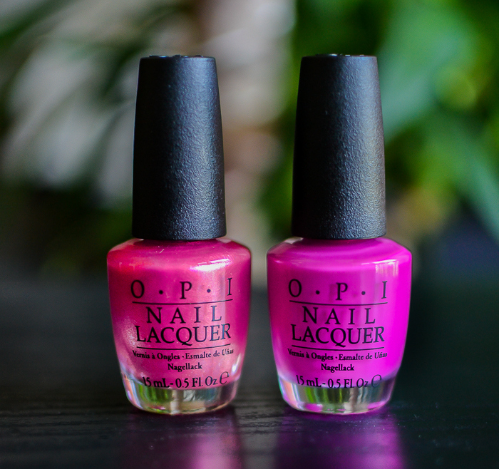 OPI Cant Hear Myself Pink The Berry Thought of You Brights 2015 Nail Polish Collection