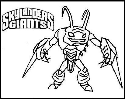 how to draw skylanders giants
