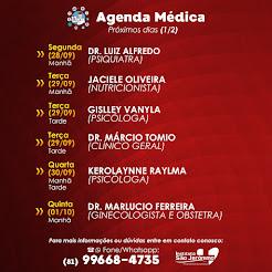 Agenda - Instituto São Jerônimo