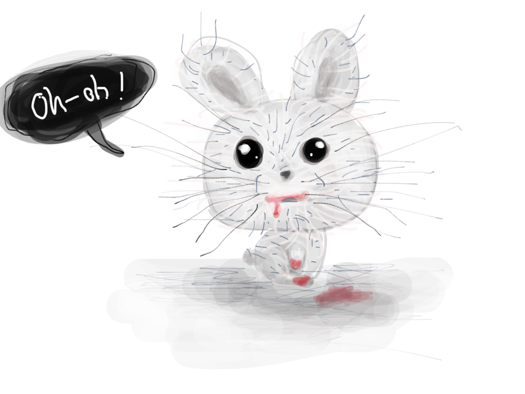 Crazy rabbit por Mari