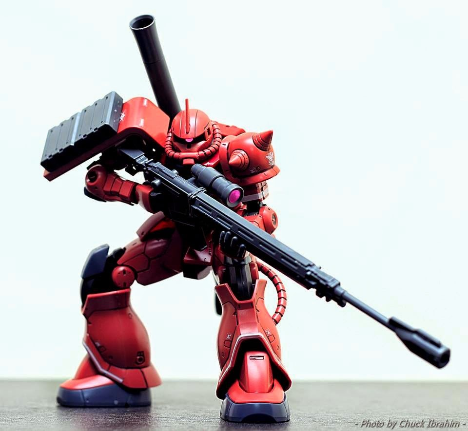 Zaku II mobile suit gundam origin
