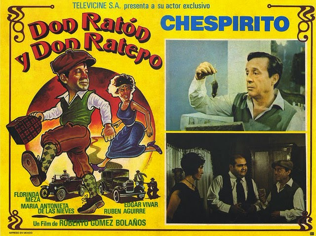 Don ratón y don ratero (1983) DVDRip Latino