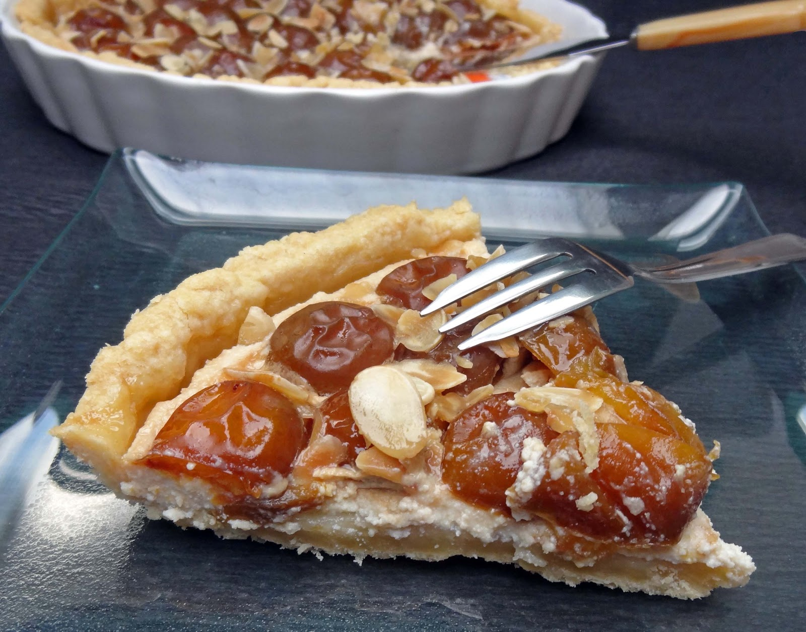 Tarte aux mirabelles la ricotta et au vinaigre de cidre blogs de cuisine - Faire son vinaigre de cidre ...