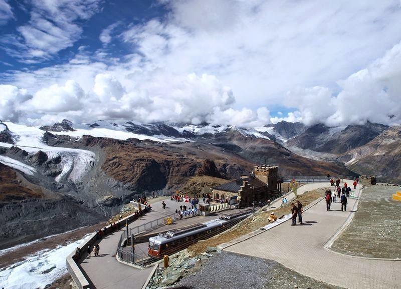 Gornergratbahn, Walliser Alpen Gornergrat Umgebung Album Matterhorn Zermatt & Walliseralpene.