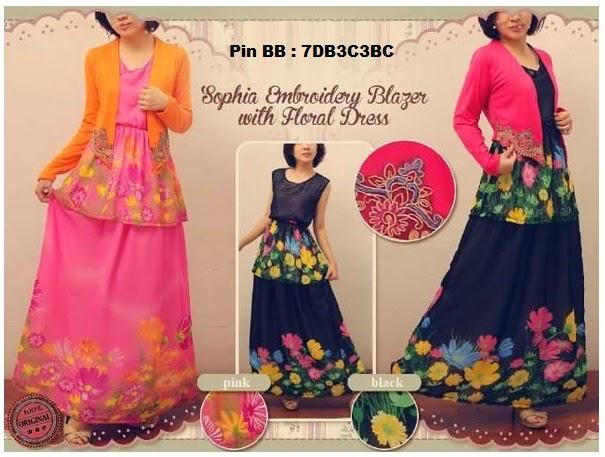 Gambar Dress Gamis Modern