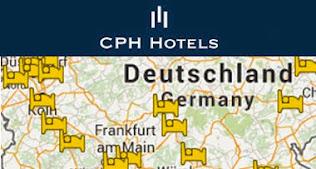 Alle CPH Hotels auf der Karte