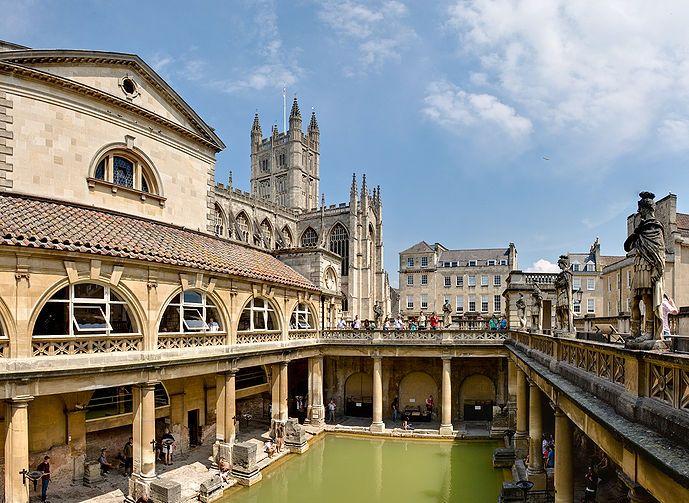 Baños Romanos De Bath: de objetos de arte: EL VERANEO EN LA PLAYA: AUGE Y CAIDA DE LOS