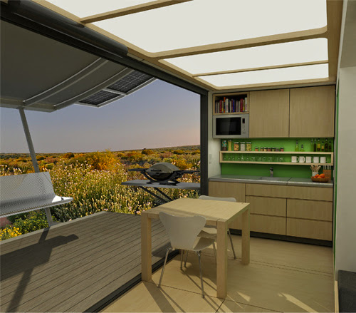 G-Pod Dwell: Small Scale Home Solution