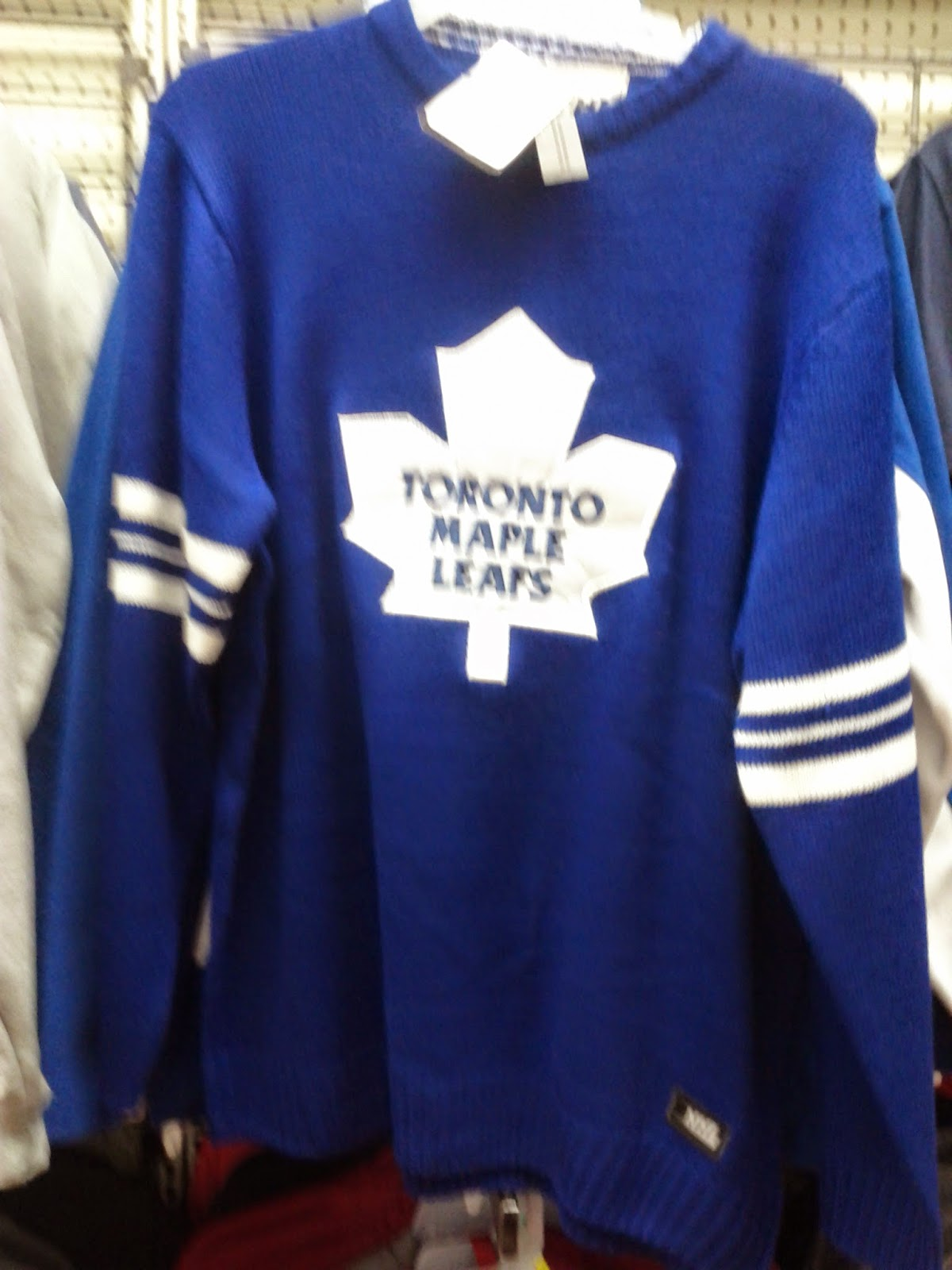toronto things  toronto maple leafs blue sweater  walmart