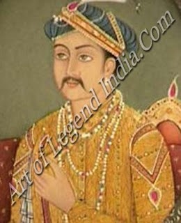 Second Battle of Panipat painting of Akbar