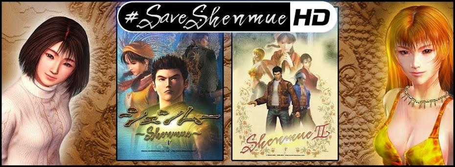 Nova campanha e hashtag: #SaveShenmueHD, marcando junto o nome da SEGA nas redes sociais