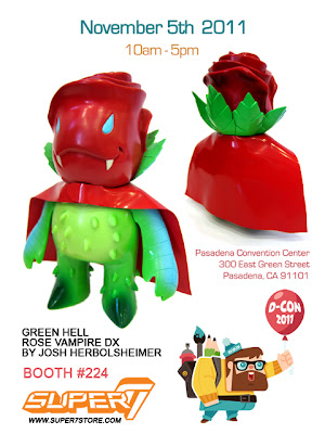 DCon Exclusive Green Hell Rose Vampire DX by Josh Herbolsheimer