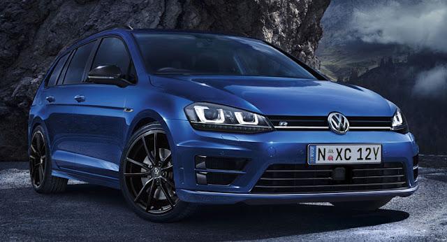VW Golf R Wagon Wolfsburg Edition