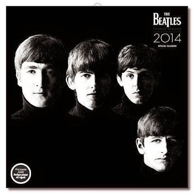 Calendario 2014 Los Beatles