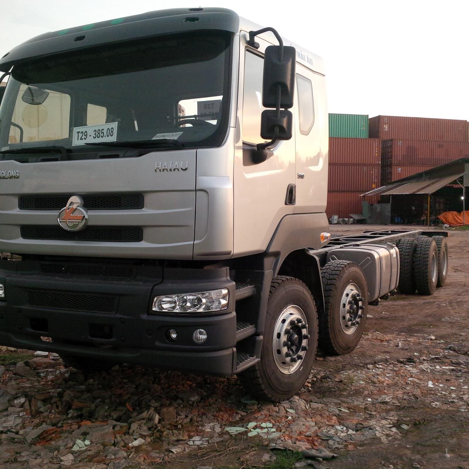 Bán trả góp xe tải chenglong 4 chân/ 4 giò thùng bạt dài 9m3 hỗ trợ 70-80%