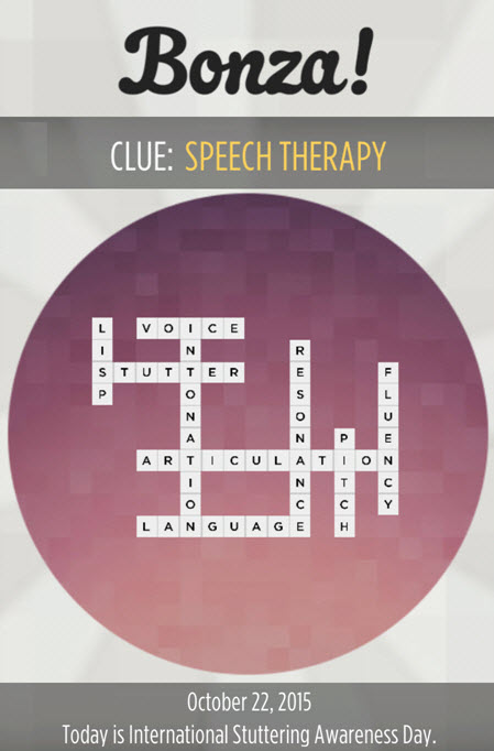 """Bonza National Geographic Clue """"Speech Therapy"""" Answers 22 October, 2015"""