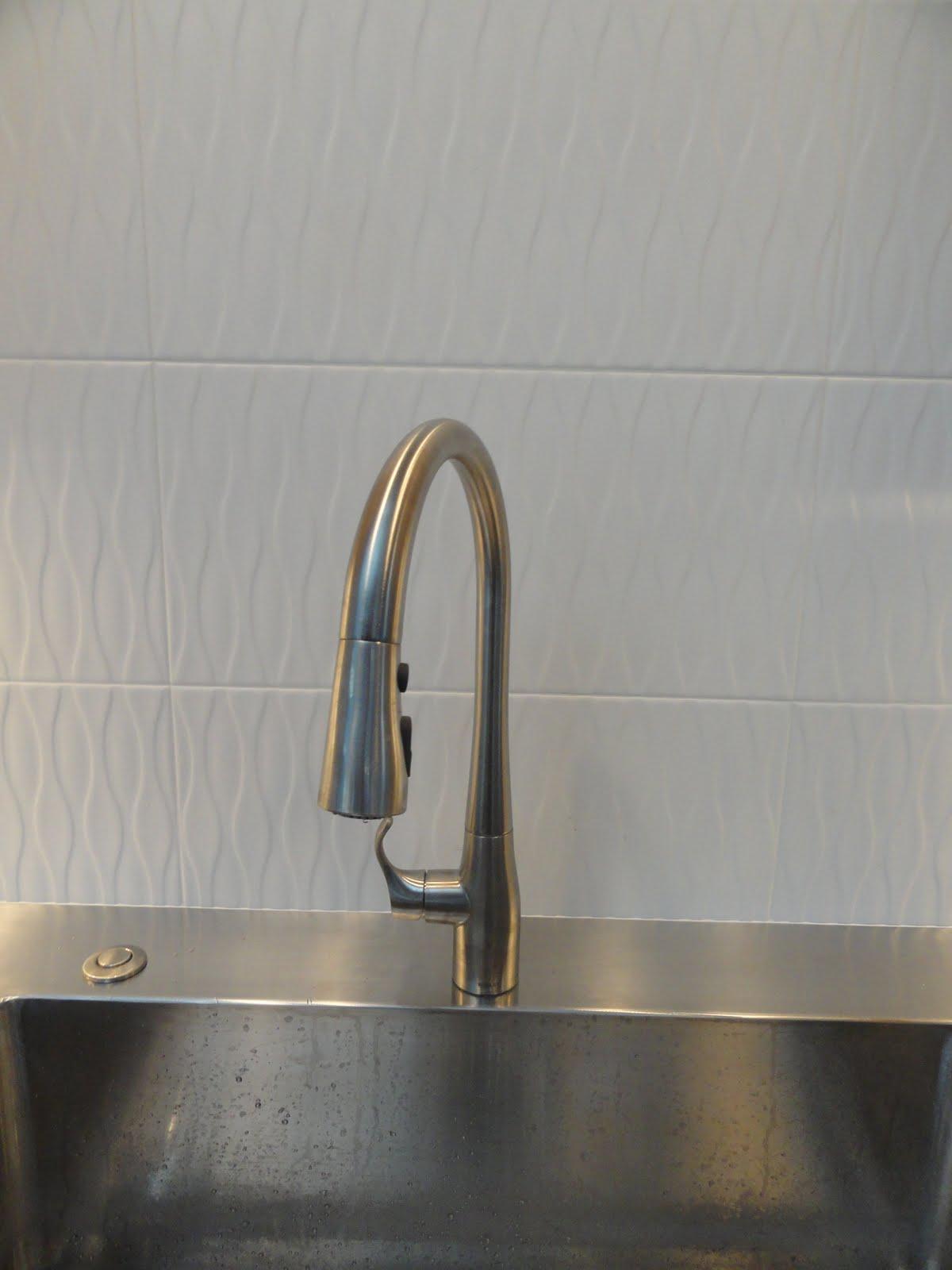 Eugene Modern Monkey Kitchen Faucet Kohler Simplice Tile