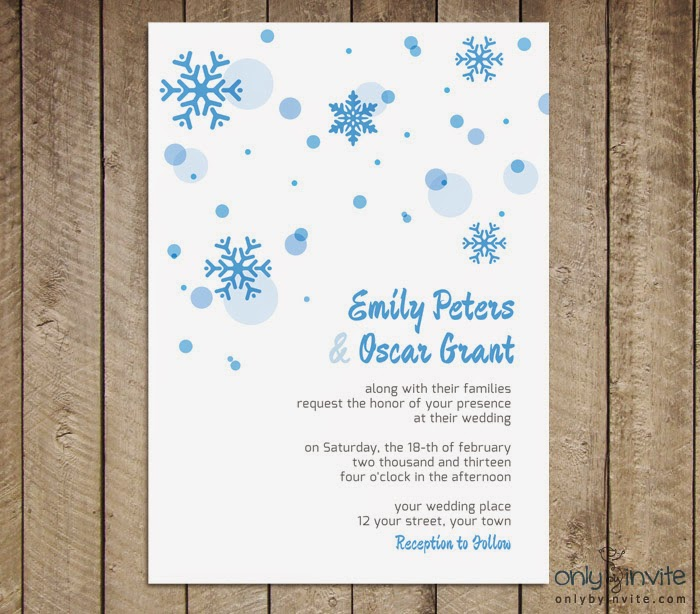 Free Printables For Happy Occasions Free Winter Wedding Invitation - Wedding invitation templates: winter wedding invitation templates free