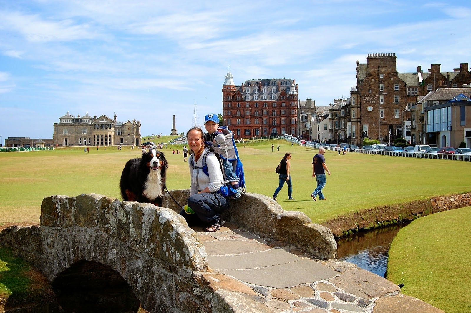 Swilcan Bridge on the Old Course in St. Andrews