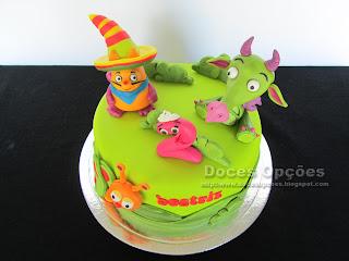 bolo de aniversário BabyTV doces opções bragança portugal