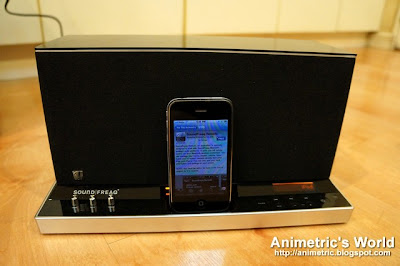 Soundfreaq with iPhone