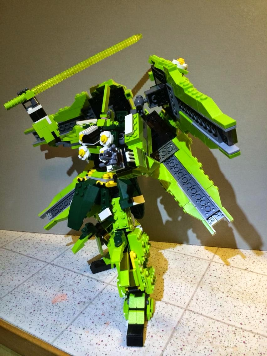 how to build a lego gundam instructions