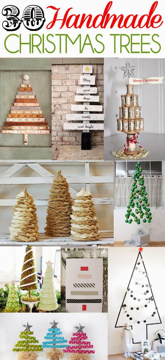30 Handmade Christmas Trees