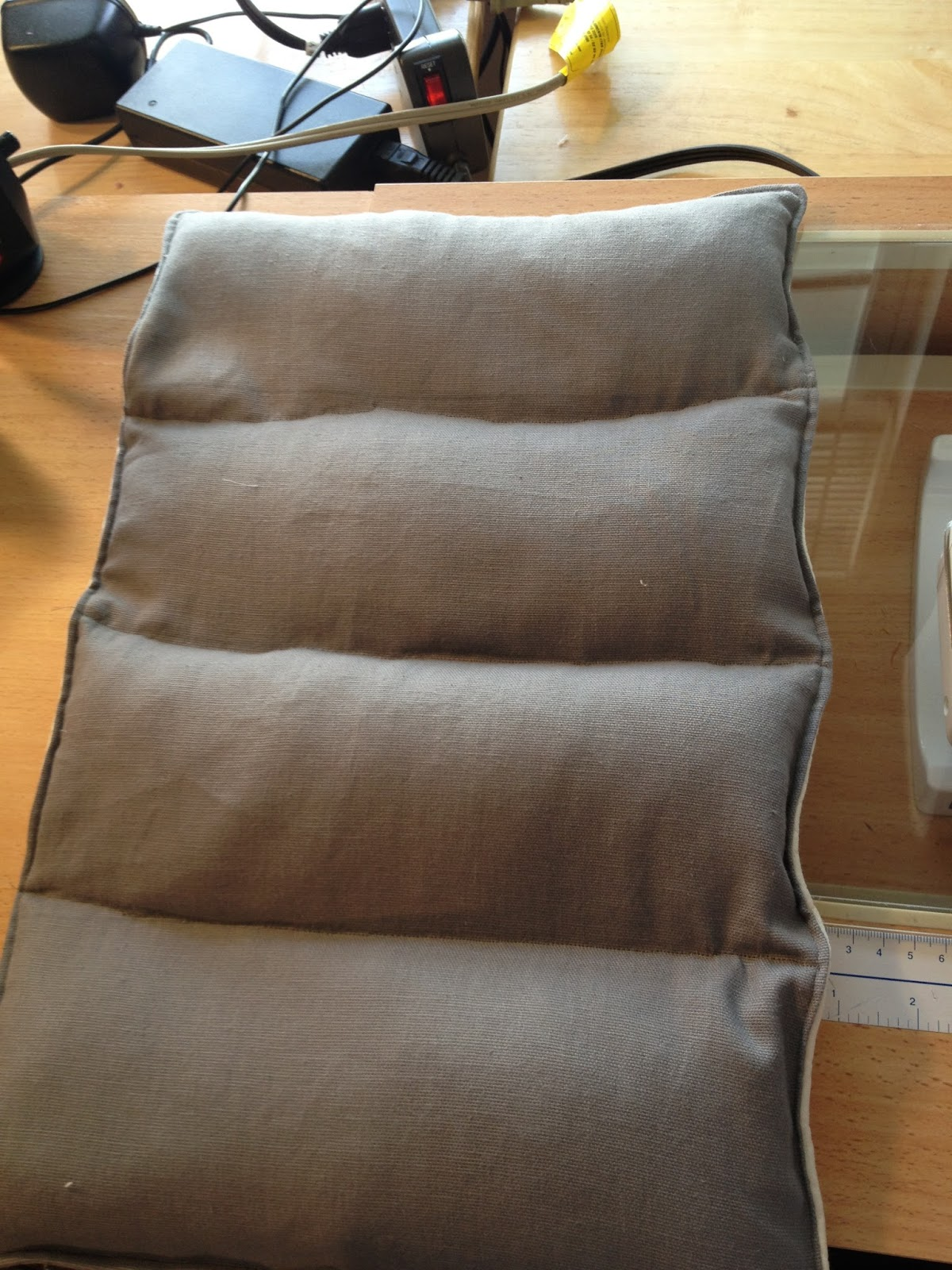 selfish sewing week: rice-filled hot pad tutorial