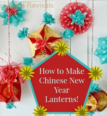 Make chinese new year lanterns - How to make chinese lantern ...